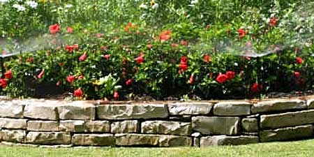 flower bed automatic sprinkler